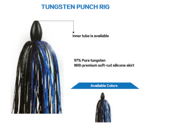 Tungsten Punch Rig